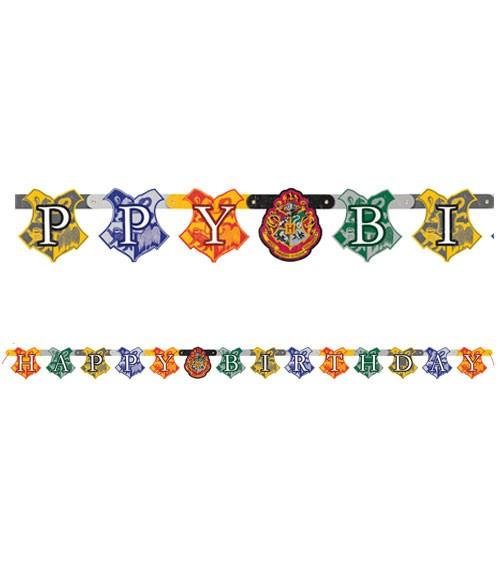 "Happy Birthday Girlande ""Harry Potter"" - 1,82 m"