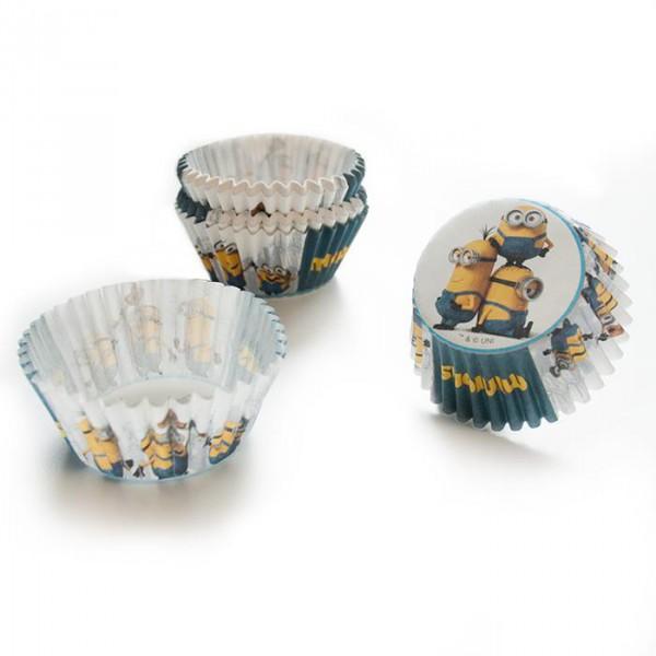 """Muffin- & Cupcake-Förmchen """"Minions"""" 50er Pack- Party Muffindeko"""