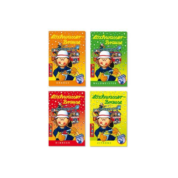 Brausepulver Feuerwehr Löschwasser, 5g, 4 Tüten im Set online kaufen