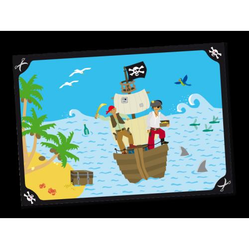 """Platzset """"Piraten"""" 6er Pack - Tischsets online kaufen"""