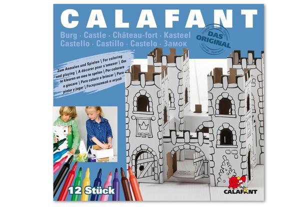 Burg Drachenstein aus Pappe zum Basteln und Spielen
