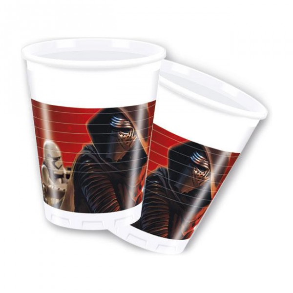 "Plastikbecher  ""Star Wars 7"" 8er Pack"