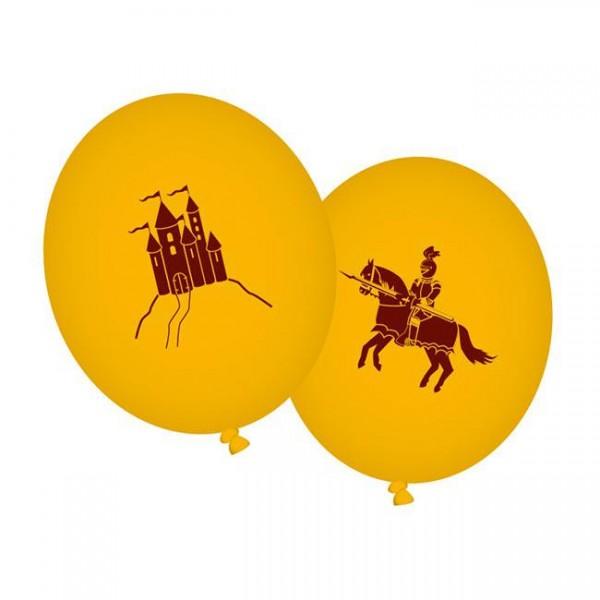 """Luftballons """"Ritter & Drache"""" 8er Pack - Ritterballons online kaufen"""