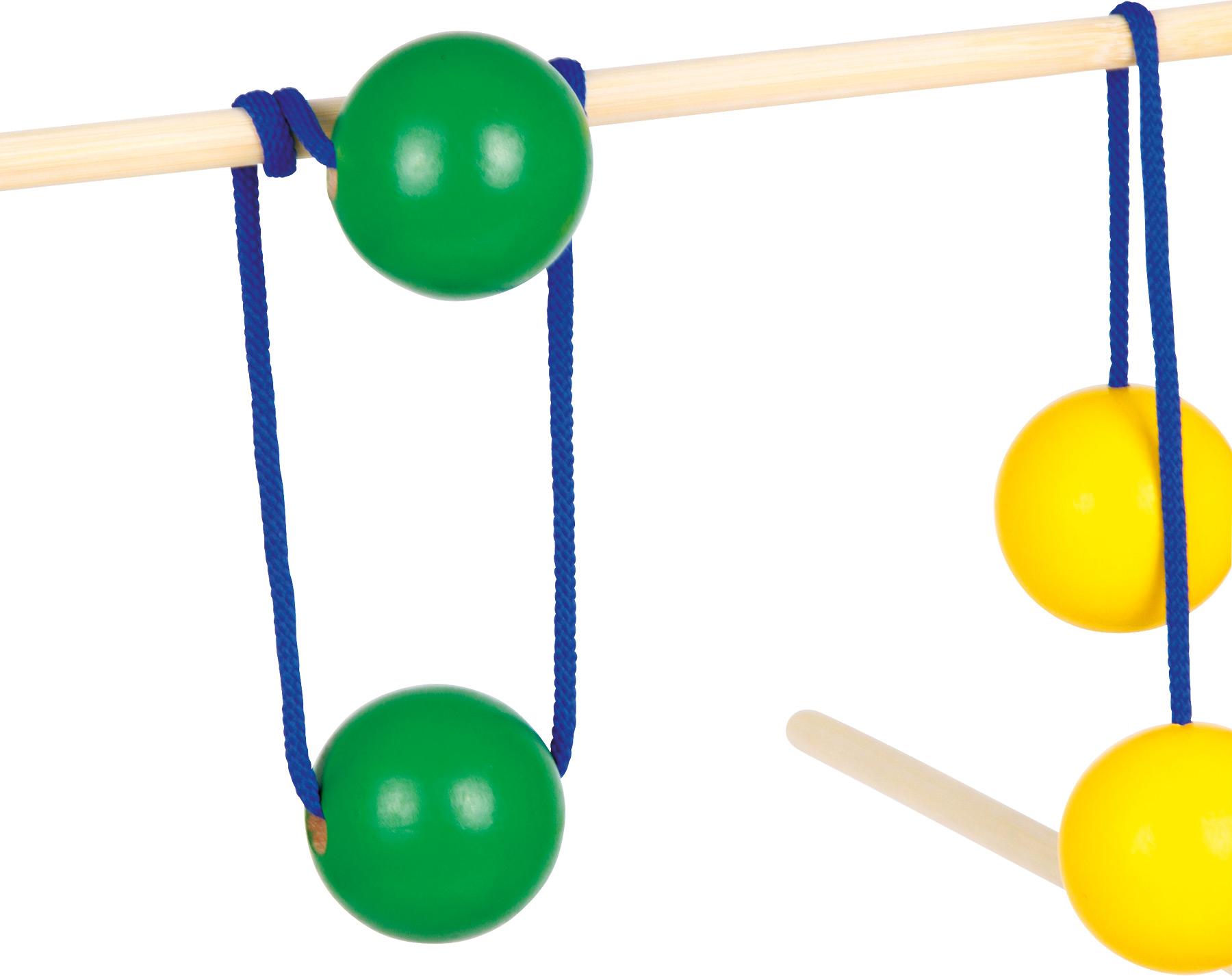 Schaukelpferd Holz Small Foot ~ Wurfgaucho  ein Geschicklichkeitsspiel für Kinderpartys