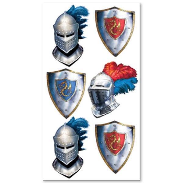 6 Tattoos mit Ritter Motiv