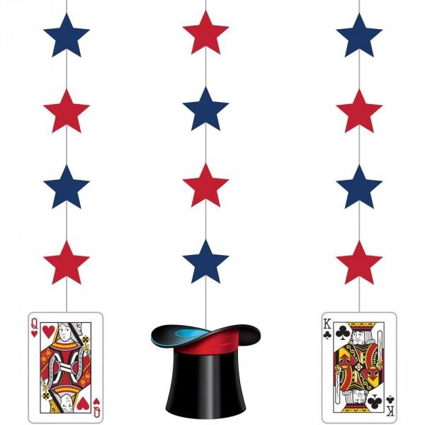 Deckenhänger - Partydeko für Zauberpartys