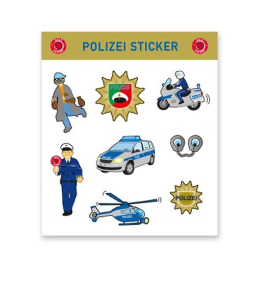 """Sticker """"Polizei"""" - 1 Bogen"""
