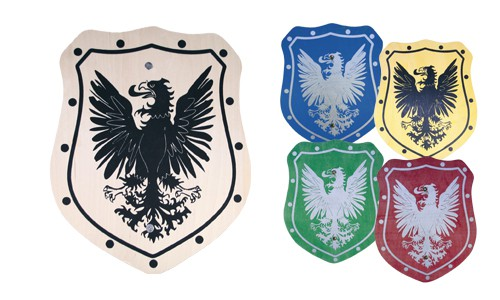 Ritterschild für Kinder aus Holz | Ritterschild basteln