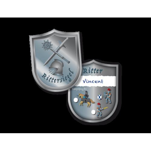 "Ausweis ""Ritter"" 6er Pack für Ritterpartys online kaufen"