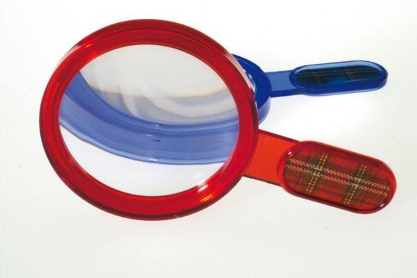 Lupe Sherlock - Detektivlupe Ausrüstung für Detektivparty