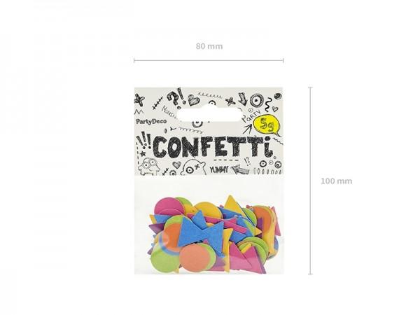 Streukonfetti - bunt - 5 g