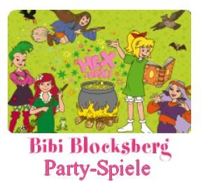Bibi Blocksberg Partyspiele für Kinder