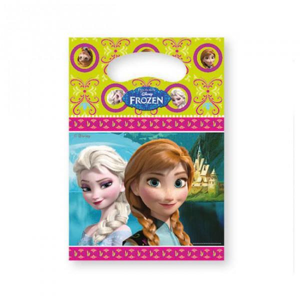 """Geschenk-Tütchen """"Die Eiskönigin - Disney"""" 6er Pack - Mitgebsel Tüte günstig kaufen"""
