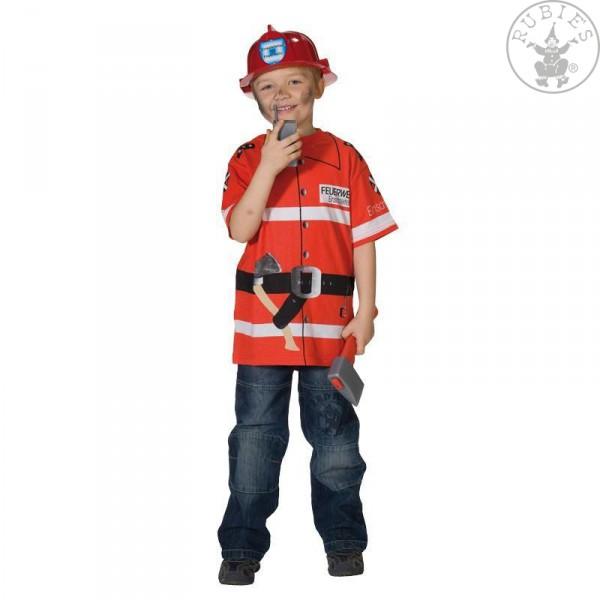 Spieleshirt Feuerwehrmann