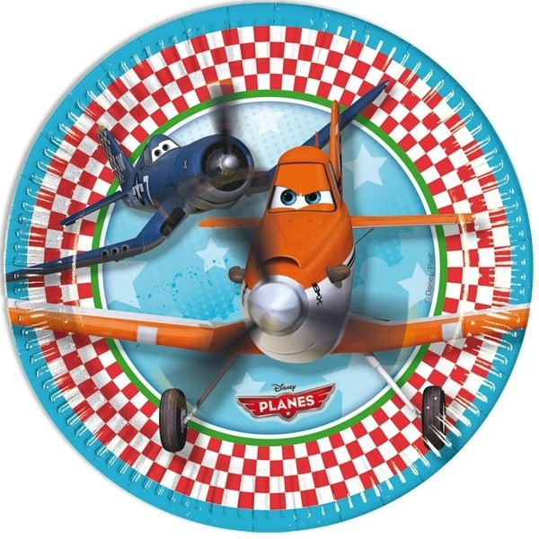 Pappteller -Disney Planes- 8er Pack, 23cm