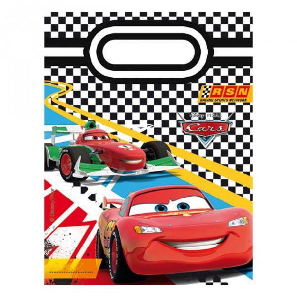 """Geschenk-Tütchen """"Disney Pixar Cars"""" 6er Pack ✔ mit Lightning McQueen ✔"""