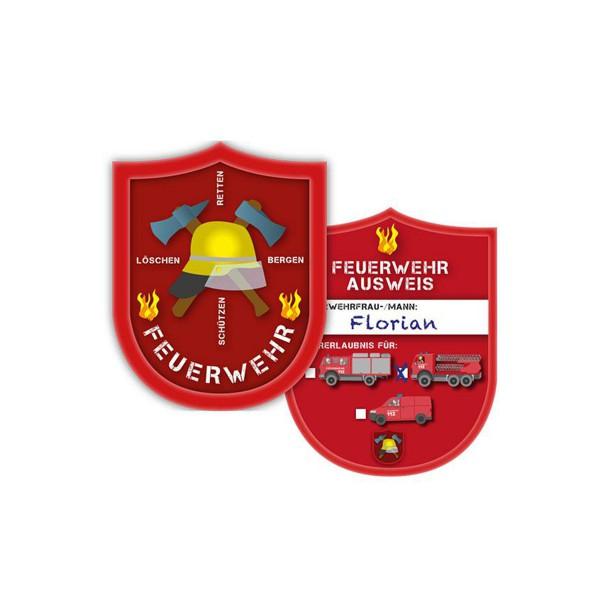 """Ausweis """"Feuerwehr"""" 6er Pack online kaufen"""