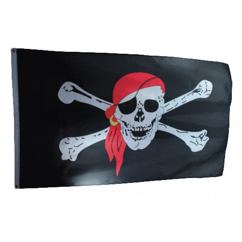 Piratenflagge Party Deko Fahne Für Kindergeburtstag Piratenparty