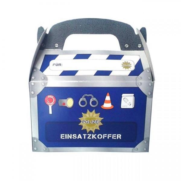 """Geschenkbox """"Polizei"""" 6er Pack - Mitgebsel Polizeiparty"""