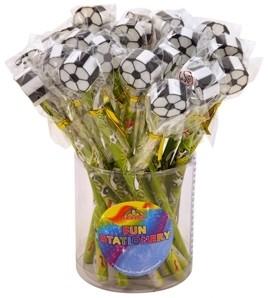 Fußball Bleistift für Fußballlpartys - Mitgebsel & Mitbringsel
