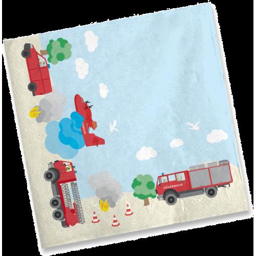 """Servietten """"Feuerwehr"""" 20er Pack - Motiv-Servietten online kaufen"""