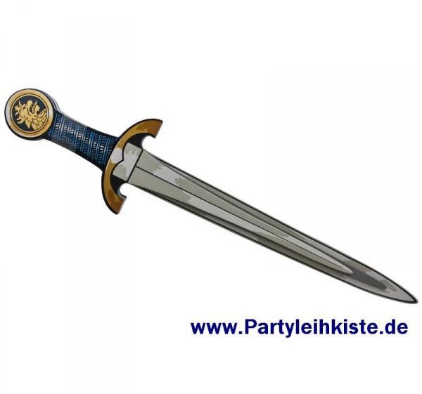 Ritterschwert Edler Ritter aus EVA, Farbe Blau/Gold