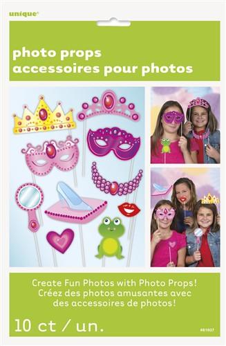 Prinzessin Fotorequisiten Set für coole Kindergeburtstag Foto Erinnerungen