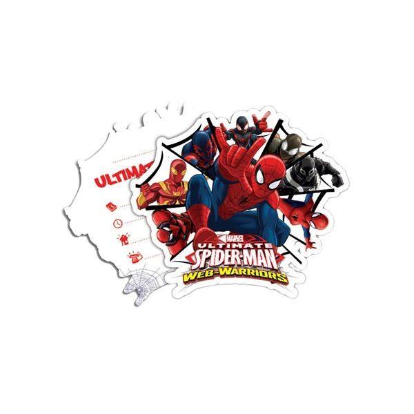 """➤ Einladungskarten """"Der ultimative Spiderman"""" 6er Pack, Web Warriors ✔ Einladungen"""