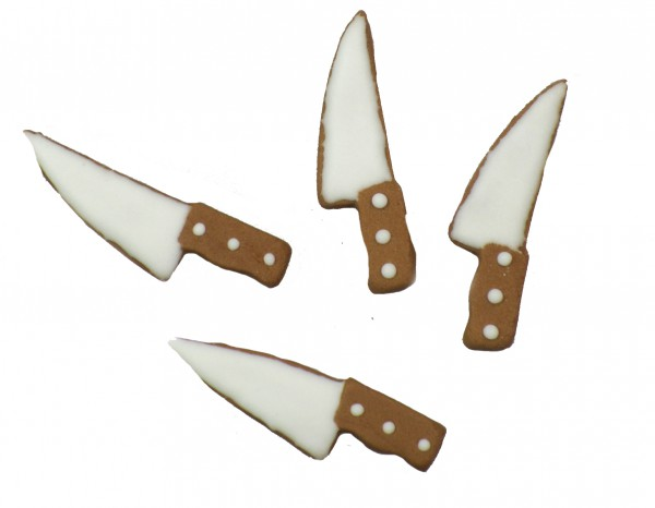 "Zuckerdekor ""Messer"" 12er Pack"