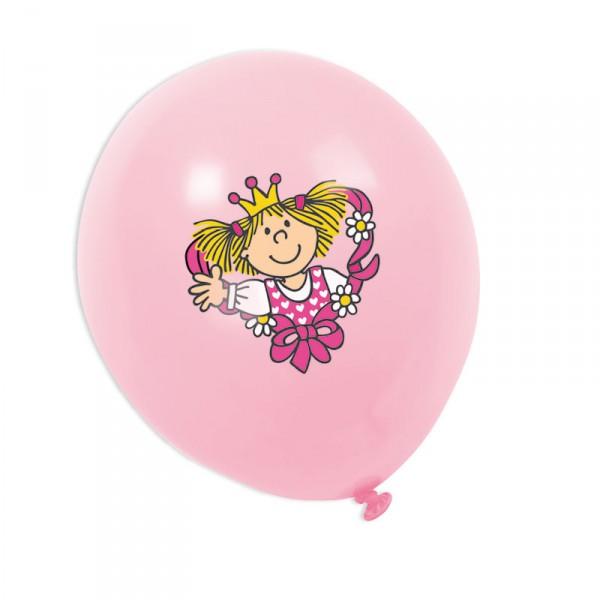 Luftballons mit Motiv Prinzessin   Lutz Mauder Partydeko Party Set