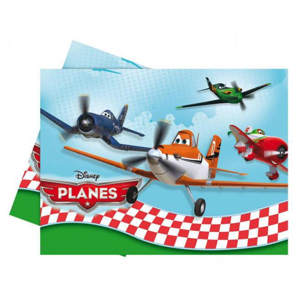 Tischdecke -Disney Planes- 120 x 180 cm ✔ mit Dusty und Skipper und Ripslinger.. ✔