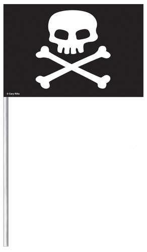 Piratenfähnchen zum dekorieren und als Mitgebsel auf dem Kindergeburtstag mit dem Motto Piraten