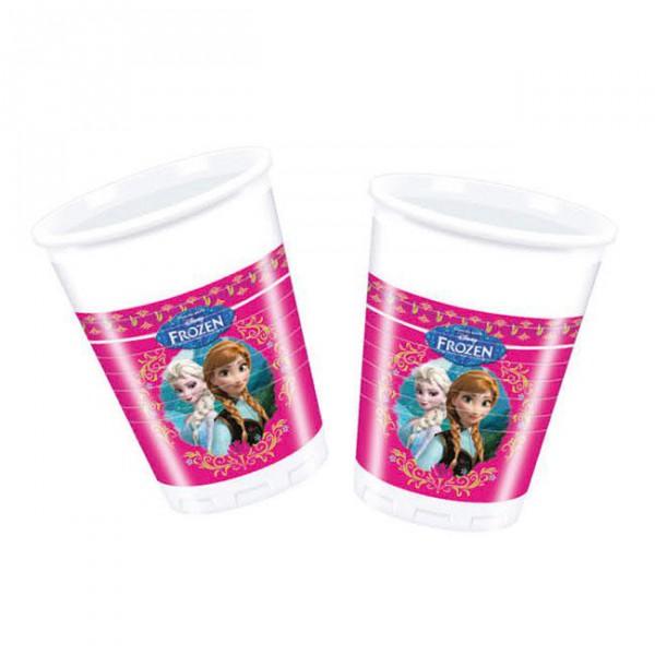 """Plastikbecher """"Die Eiskönigin - Disney"""" 8er Pack"""