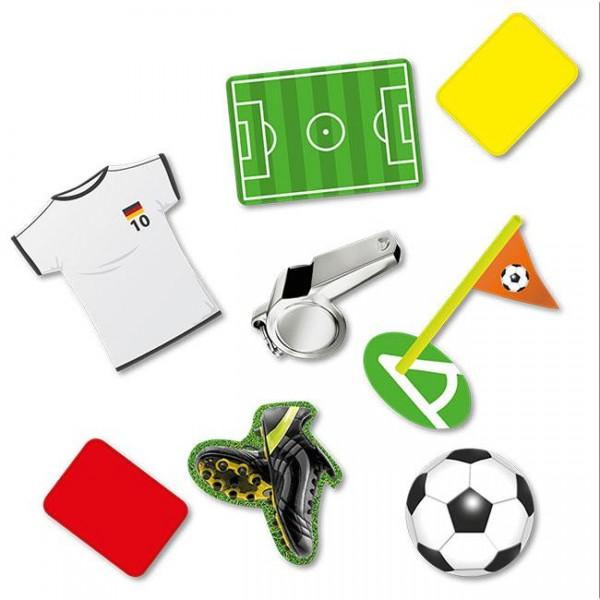 """XXL Konfetti """"Fußball"""" 24 Teile"""