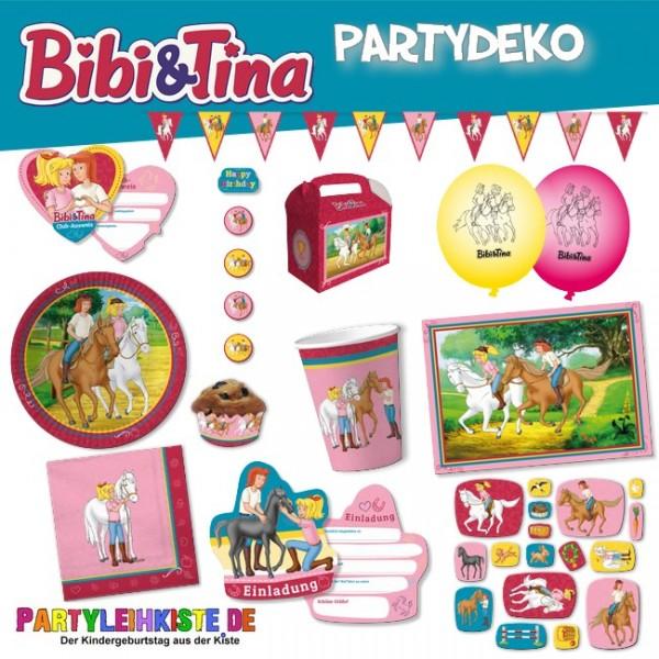Bibi & Tina Partydekoration für Geburtstagspartys
