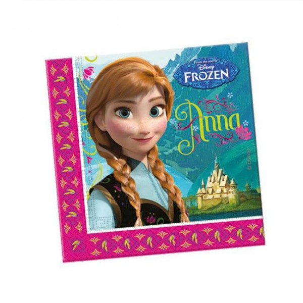 "Servietten ""Die Eiskönigin - Disney"" 20er Pack"