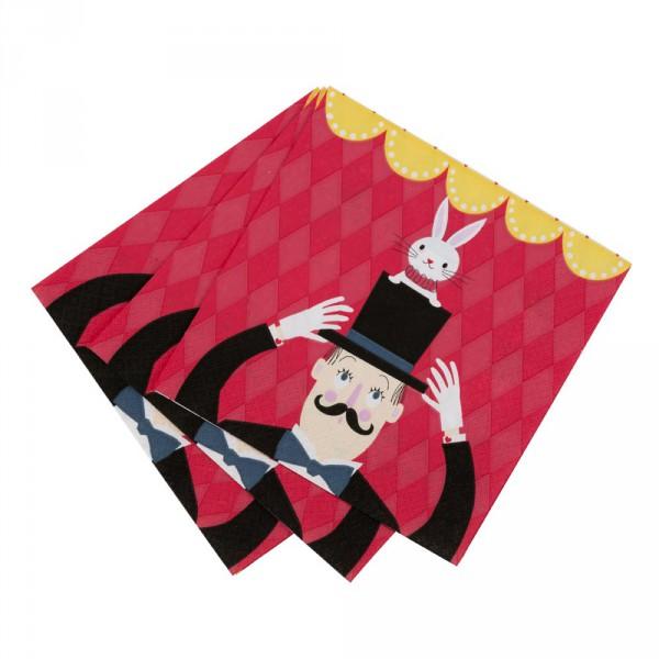 Servietten Kindergeburtstag Zauberer