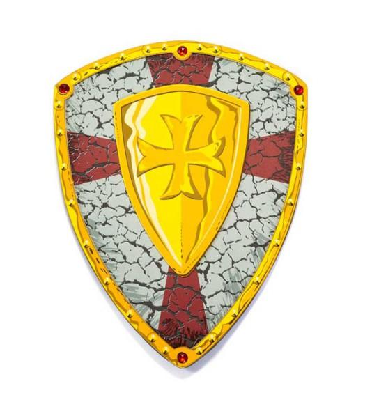 Kreuzritter Ritterschild - Ritterspielzeug aus Moosgummi