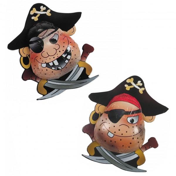 Schokoladen Piraten aus Vollmilchschokolade