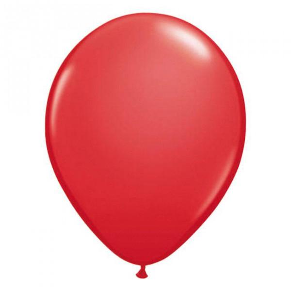 """Luftballons """"Rot""""-10er Pack - Partydeko Ballons kaufen"""