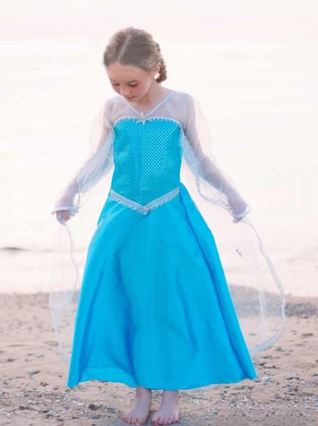 Kinderkostüm Kristallkönigin zauberhaft wie die Eiskönigin