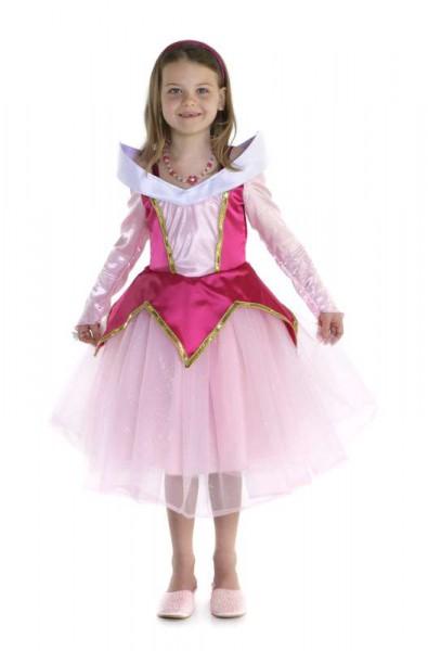 Dornröschen Kostüm | Kindergeburtstag Prinzessin | Mottoparty Prinzessin