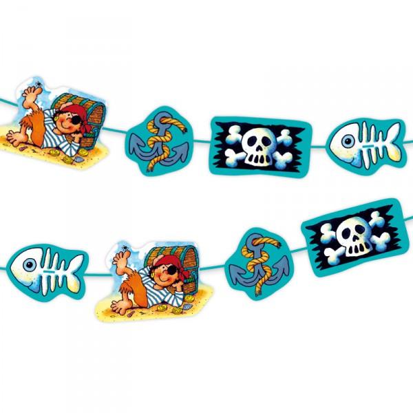 Wimpelkette für Piratenparty von Lutz Mauder |  Piraten Party Deko Kindergeburtstag