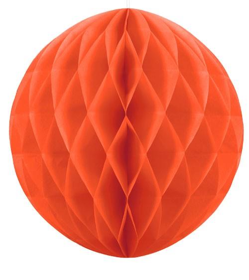 Wabenball - 40 cm - orange