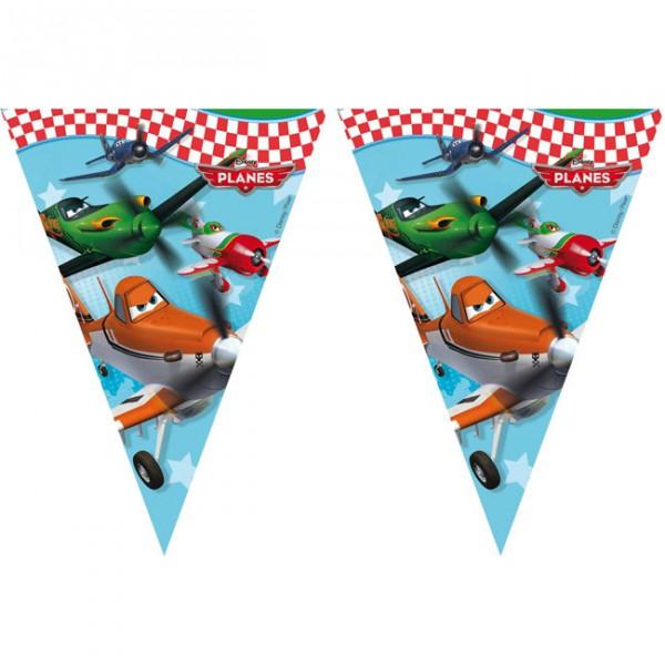"""Wimpel-Girlande """"Disney Planes"""" 2,3 m - Partygirlanden ✔"""