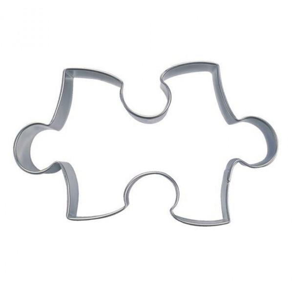 Ausstechform Puzzle ca.6 cm - kinderleicht ein Puzzle backen