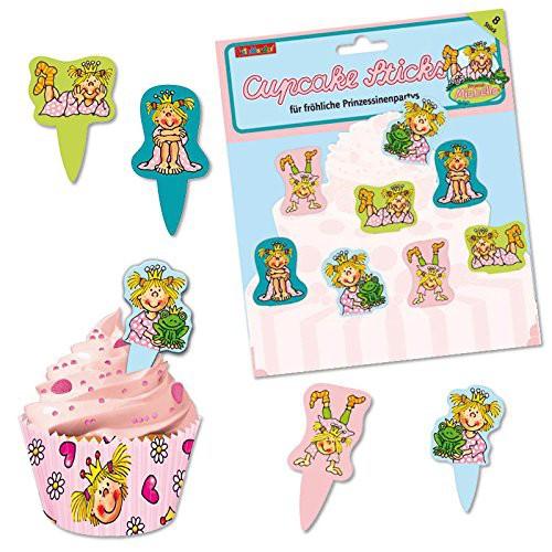 "Cupcake Sticks ""Prinzessin Miabella"", 8 Muffinpicker"