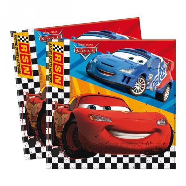 "Servietten ""Disney Cars"" 20er Pack ✔ mit Lightning McQueen ✔"