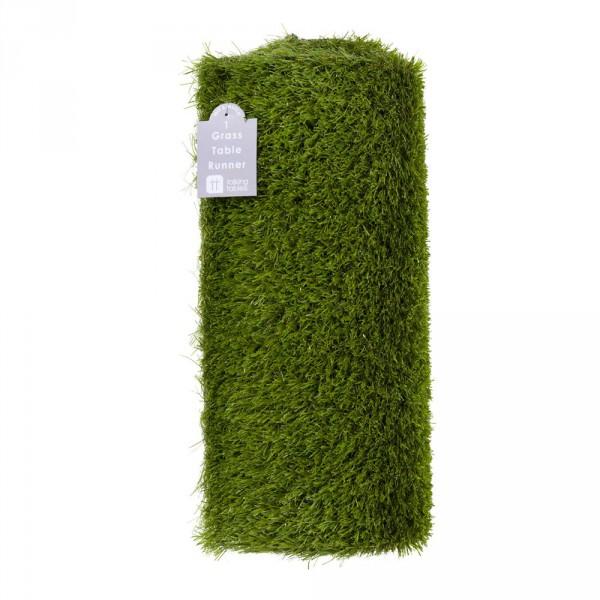 Tischläufer Gras, 150x40cm - Kunstrasen