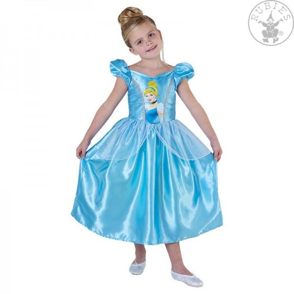 Cinderella Big Print Classic Kostüm S, M, L